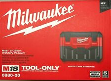 Milwaukee 0880-20 M18 2 Gallon Wet/Dry Vacuum NEW in the Box