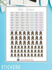 Work Stickers Phone Planner Sticker Planner Agenda Stickers