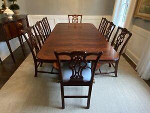 Henkel Harris Mahogany Dining Table Model 2296