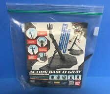 Bandai 1/100 Gundam Hobby Display Base 1 Gray (Us Seller)