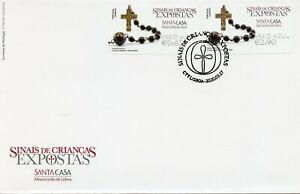 Portugal Stamps 2020 FDC Foundling Tokens Misericordia Susana Cor Azul 2v SA ATM