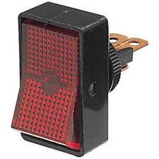 Rocker Switch Off-On Switch - RED Illuminated, 12V as Hella 4440 Narva 62024