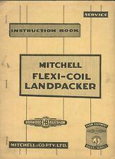 Mitchell Flexi-Coil Landpacker instructions