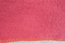 SOFT 100% LANA VIRGEN PANOS VICUNA DEEP PEACH WOOL BLANKET 67X53 COLOMBIANO