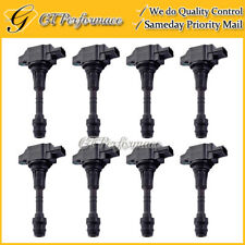 OEM Quality Ignition Coil 8PCS Pack for 07-12 Titan Armada Pathfinder/ QX56 5.6L