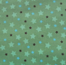 Mod Tod Green Stars by Sherri Berry Designs for Riley Blake, 1/2 yard fabric