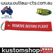 REMOVE BEFORE FLIGHT. LANYARD, KEYRING/KEYCHAIN, LUGGAGE TAG, KEY TAG ETC.