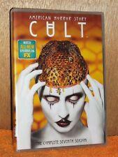 American Horror Story: Cult [Season 7] (DVD, 2018, 3-Disc) NEW TV Series horror