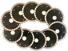 """10pk 4"""" Diamond Blade Stone, Concrete, Masonry-buy 2pk get an angle grinder free"""