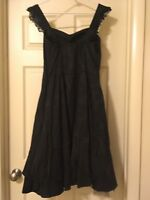 XXL Hot Topic Brand New, Never Been Worn Black Goth Dress