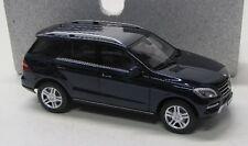 Mercedes Benz M-Klasse ( 2011 ) blau met . / Minichamps 1:18