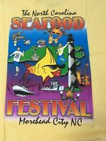 Vintage  North Carolina Seafood Festival T-shirt. Large