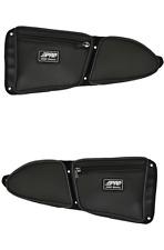 PRP Seats Black Stock Door Bag with Knee Pad Polaris RZR XP1000 900XC 900 S