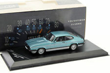 FORD CAPRI MKIII 2.8 INJECTION BLEU 1/43 whitebox 19882