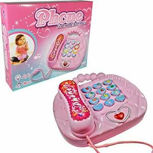Lovely Toy Phones for Toddlers; 3 Activity Modes Play Phone; Kids Phone