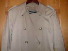 Women's London Fog Trench Rain Coat with Zip Out Lining - 8 Petite