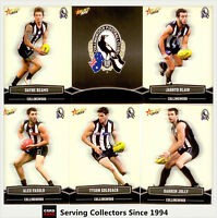 2013 Select AFL Champions Trading Cards Base Team Set Collingwood(12)