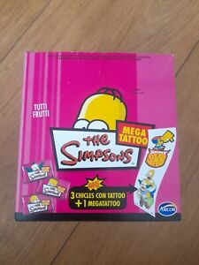 Simpsons Argentinian Bubblegum Shop Box