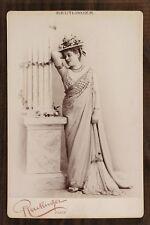 "Sybil Sanderson, dans ""Thaïs"", Opéra Soprano, Photo Cabinet card Reutlinger"
