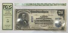 1902 $20 NATIONAL BANK NOTE SCRANTON PENNSYLVANIA FINE 15 86559 NICE NOTE WOW
