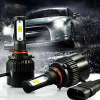 G2 Chips 9005 6500K Xenon White LED Headlights High Beam Bulbs Extremely Bright