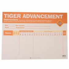 """Boy Scout Tiger Cub Advancement Chart 23"""" x17"""" Made in USA Official Licensed BSA"""