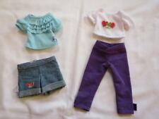 """Playmates Hearts for Hearts Brand 14"""" Doll Clothing Outfits Lot"""