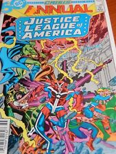DC Crisis No. 3 1985 Annual Justice League of America