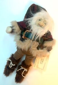 NISSEN DOLL FJELL MANN MOUNTAIN MAN HANDCRAFTED BY THELMA PAULSON HTF RARE
