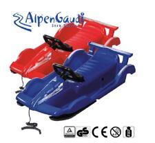 AlpenGaudi Alpen Race rot und blau Schlitten Bob Rodel Lenkrodel Kinderschlitten