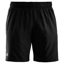 Unifarbene Herren-Sportshorts aus Polyester mit regular Länge