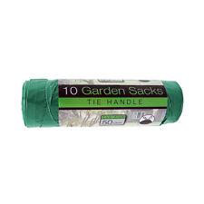 30 x Heavy Duty Green Garden Bin Rubbish Waste Garbage Refuse Liner Bags (50ltr)