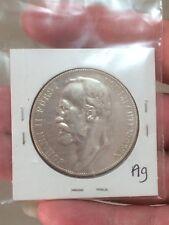 1904 liechtenstein 5 krone silver coin