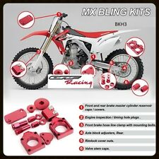 HONDA CRF450R RED BLING KIT KITS 2002 - 2008  CRF450X 2005-2013
