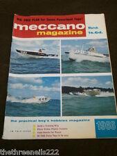 MECCANO MAGAZINE - ATOM BOMBS FOR PEACE - MARCH 1966 VOL 51 # 3