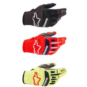 Alpinestars Youth Large MX ATV Gloves S8Y Flight Radar Yellow//Red//Anthracite