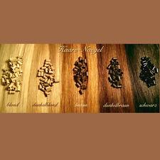 100 Eurolocks für Extensions, S, M & L Copper Rings, 5 Farben, 3 Gr., Euro Locks