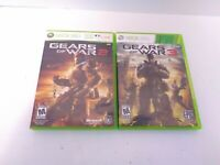 2 Gears of Wars XBOX 360 Games Tested & Fast Shipping