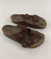 BIRKENSTOCK - Size 41 (W10, M8) - Arizona Brown Leather Sandal, GUC