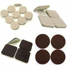 Heavy Duty FELT PADS ~ Thick SELF ADHESIVE Sticky Protectors for FURNITURE LEGS