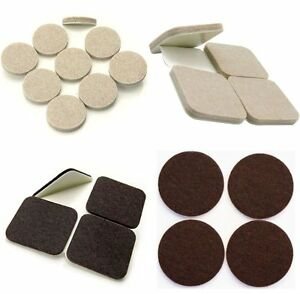 Thick FELT PADS, Sticky SELF ADHESIVE Protectors for Furniture Legs, HEAVY DUTY