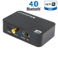 Toslink Coaxial 3.5mm Bluetooth 4.0 Music Receiver Wireless Stereo HD Audio