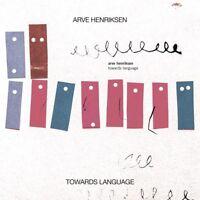 ARVE HENRIKSEN - TOWARDS LANGUAGE   CD NEUF