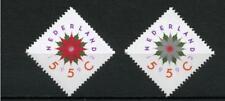 Nederland 1542-1543 kerst- decemberzegels 1992