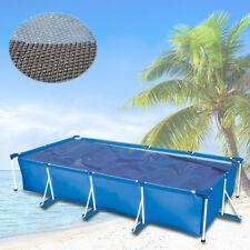260x160 Wärmeplane Solarfolie Solarplane Solarheizung schwarz/blau Pool Heizung