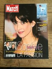Paris Match du 20 Mars 2008 Sophie MARCEAU et Christophe LAMBERT /Mylene FARMER
