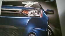 2010 10 Ford Focus  original sales brochure