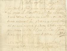 Anchiano 1602 Antico Documento Manoscritto Seicentesco