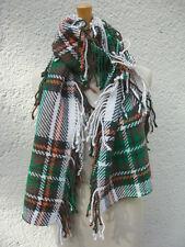 foulard en laine STOLA NEUF multicolore super doux écharpe maille épaisse