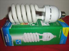 LAMPADA BASSO CONSUMO 105 WATT = 525W CALDA E27 SPIRALE 2700K 100 W LAMPADINA